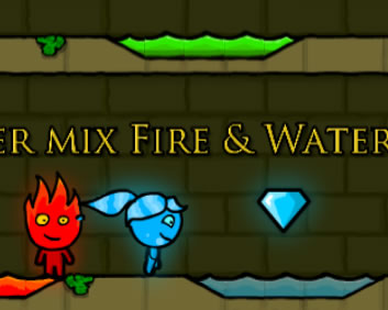 Bomberman - Fireboy and Watergirl 1 forest temple