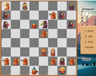 Bomberman - Halloween chess